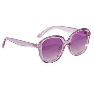 Accessories - Retro 70s Disco Ombré Aqua Crystal  Sunglasses